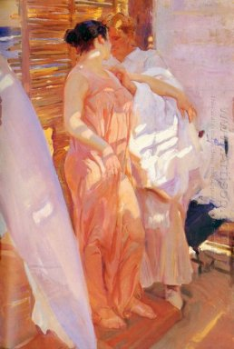 After The Bath 1916