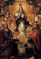 Virgin of the Immaculate Conception with Sts Andrew and John the