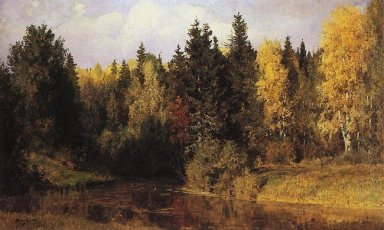 Autumn In Abramtsevo 1890