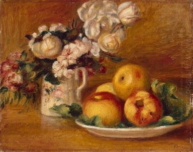 Apples And Flowers 1896