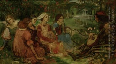 A Tale from the Decameron study 1916
