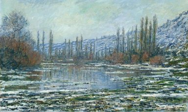 The Thaw At Vetheuil