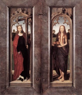 Triptych Of Adriaan Reins Closed