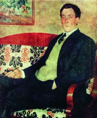 Portrait Of Peter Kapitza 1926