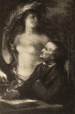 The Muse Richard Wagner 1862