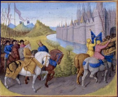 Crusaders Arrived In Constantinople Battle Between The French An