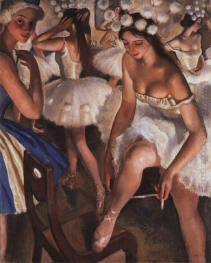 Ballerinas In The Dressing Room 1923