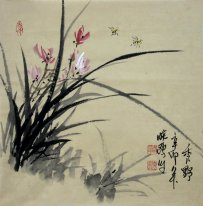 Orchid - pittura cinese