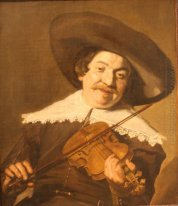 Daniel van Aken Playing the Violin