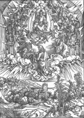 st john and the twenty four elders in heaven 1498