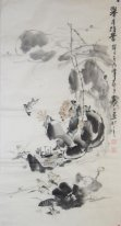 Fisherman - Chinese painting