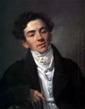 Portrait Of The Actor A N Ramazanov
