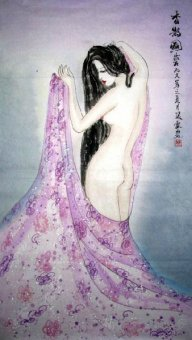 Nude Girl-Shumu - Chinese Painting