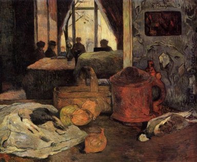 still life of onions and pigeons and room interior copenhagen 18