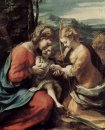 The Mystic Marriage Of St Catherine Of Alexandria 1518