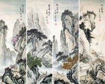 Mountain.4 - Chinese Painting