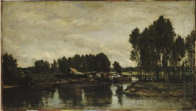Boats On The Oise 1865