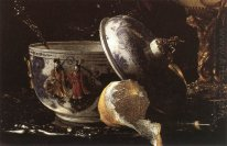 Still-Life with a Nautilus Cup (detail)