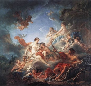Vulcan Presenting Arms To Venus For Aeneas 1756