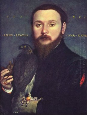 Portrait Of Nobleman With A Falcon 1542