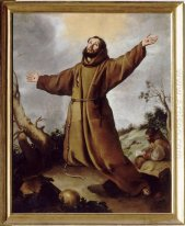 Saint Francis Of Assisi Menerima The Stigmata