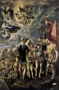 Martyrdom Of St Maurice And His Legions 1581