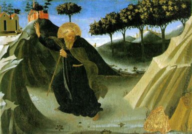 Saint Anthony The Abbot Tempted By A Lump Of Gold 1436