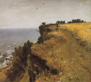 On The Shore Of The Gulf Of Finland Udrias Near Narva 1888