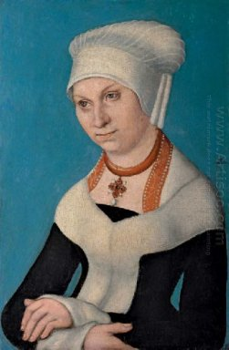 Portrait Of Barbara Duchess Of Saxony