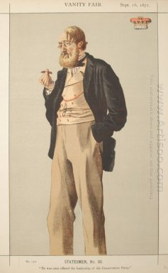 Statesmen No 930 Caricature Of The Duke Of Rutland