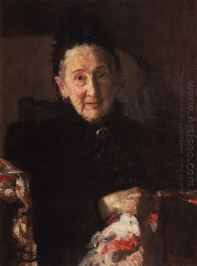 Portrait Of L I Shestakova Sister Of Composer Mikhail Glinka 189