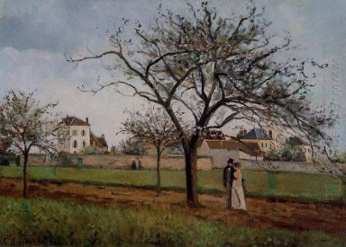 pere gallien s house at pontoise 1866