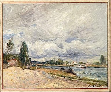 banks of the seine 1879