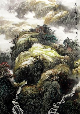 Mountain - Chinese Painting