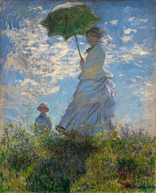 The Promenade Woman With A Parasol