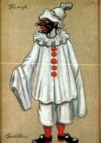 "Costume designs for ""Petrushka"" by Stravinsky in Metropolitan Op"