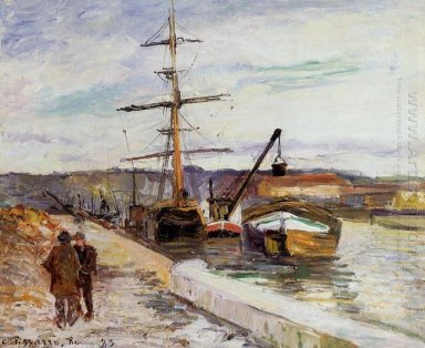 the port of rouen 1883