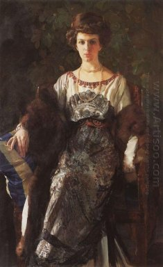 Portrait Of Ewfimia Nosova 1911