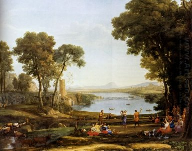 Landscape With The Marriage Of Isaac And Rebekah 1648