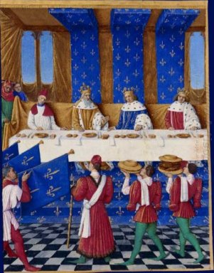 Banquet Of Charles V The Wise