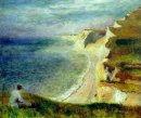 Cliffs On The Coast Near Pourville 1879