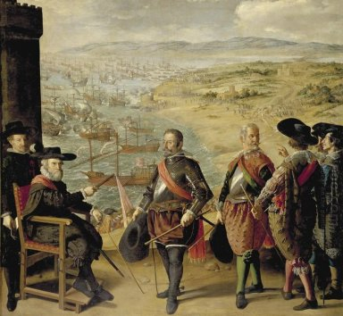 The Defence Of Cadiz Against The English 1634