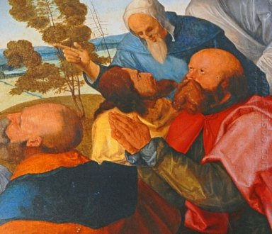 Heller Altarpiece Detail From Central Part