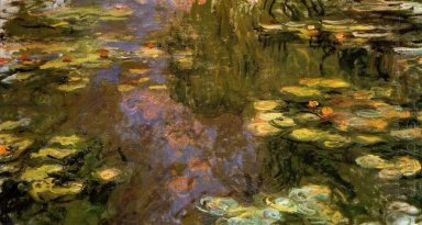 Water Lily Pond 1919