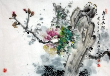 Birds&Flowers-Spring - Chinese Painting