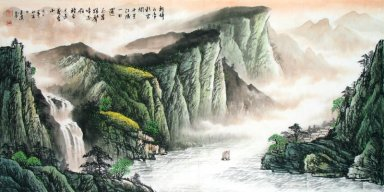 Mountains and water -Gulao-CNAG220358