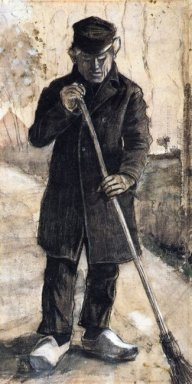 A Man With A Broom 1881