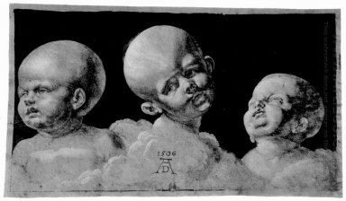 three children s heads