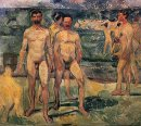 Bathing Men 1907