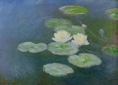Water Lilies Evening Effect 1899